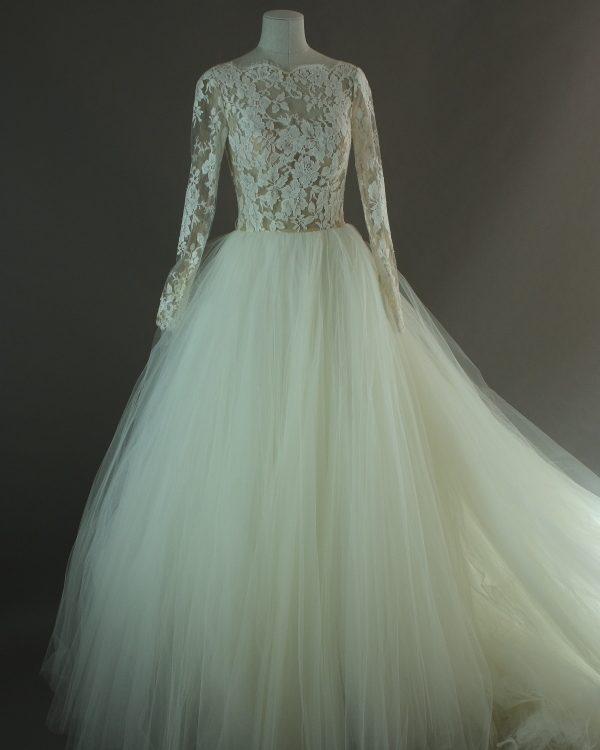 Dixie - Rosa Clara - La mariée à bicyclette - robe de mariée outlet - devant