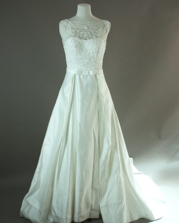 Zola - Adriana Alier - La mariée à bicyclette - robe de mariée outlet - devant