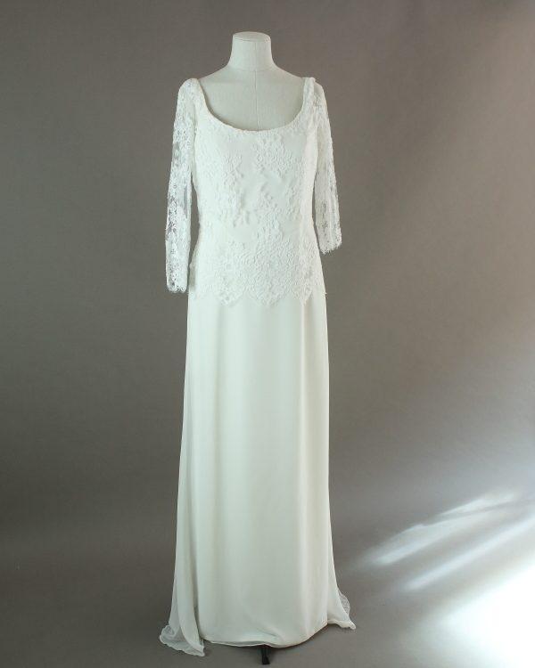 Florence - Marilyse - La mariée à bicyclette - robe de mariée outlet - devant