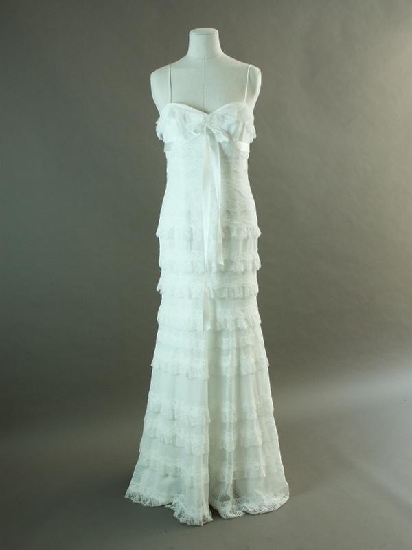 Bermude - Cymbeline - La mariée à bicyclette - robe de mariée d'occasion - devant