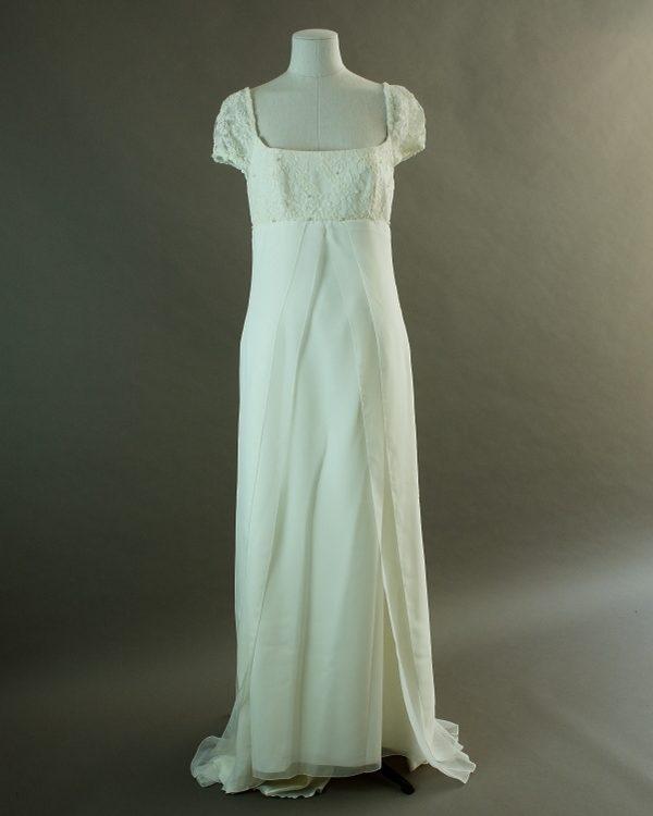 Emaelle - Lyrique - Aurye - La mariée à bicyclette - robe de mariée outlet - devant